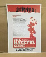 "The Hateful Eight Movie Poster approx. 11.5x17"" Quentin Tarantino 70mm Hollywood"