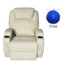 Lounge Vibration Massage Recliner Sofa Chair Swivel Heated W/Control Ergonomic