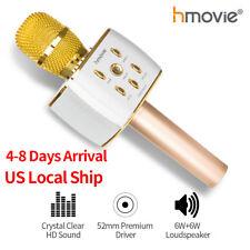Wireless Karaoke Microphone Bluetooth Mobile Phone Player MIC Speaker Record