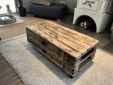 Pallet furniture Living room table Coffee table