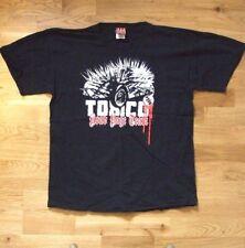TOXICO London vintage Road Rage Crew logo T-shirt 9de48dca1552