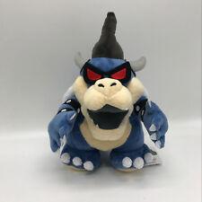 """New Super Mario Bros. Dark Bowser Plush Soft Toy Stuffed Animal Doll Teddy 11"""""""