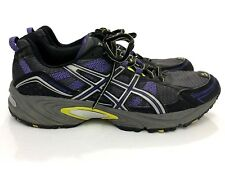 Asics Gel Venture 4 Gray Purple Running Shoes Women Size 9 SH1