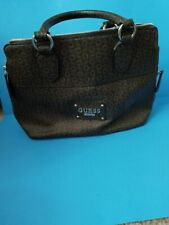 guess brown handbag