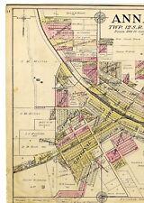 1908 Map Anna illinois Alto Pass Illinois w/family names from Union County Atlas