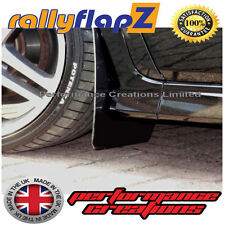 rallyflapZ HONDA CIVIC TYPE R FN2 (2007-2010) Mud Flaps Mudflaps Black 3mm PVC