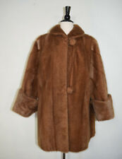 Vintage W.H. EWING & SON Rare Real Fur Coat Jacket SIZE SEE ALL MEASUREMENTS