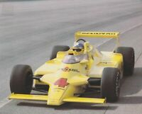 1980 Johnny Rutherford Pennzoil Cosworth Chaparral Indy Car postcard