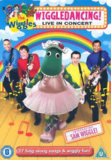 THE WIGGLES -WIGGLE DANCING DVD Live in Concert  UK Release New Sealed R2