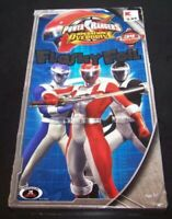 Power Rangers Flashy Foil Valentines Day Cards Operation Overdrive 34 Ct + Seals