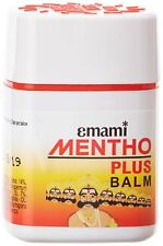Emami Mentho Plus 100 Ayurvedic Remedy for All Pains Headache Bodyache 9ml