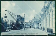 Torino Città Mostra Ferroviaria Brunner 12337 cartolina RT3134
