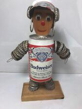 EROTIC ART VINTAGE BUDWEISER BEER CAN WOMAN FIGURE BAR STATUE ROOM MAN CAVE