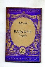 Racine # BAJAZET - Tragédie # Larousse