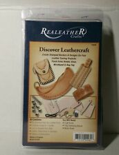 Brand NEW Real Leather Crafts - Discover Leathercraft Kit T4999