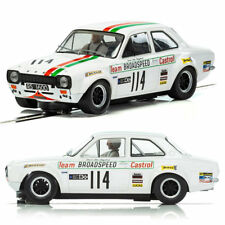 SCALEXTRIC Slot Car C3924 UnBoxed MK1 Team Castrol Ford Escort Brands Hatch 1971