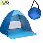 2-3 Person Portable Pop Up Beach Tent Anti-UV Sun Shade Canopy Outdoor Camping