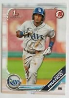 2019 Bowman Paper WANDER FRANCO 1st Bowman Prospect Rookie #BP-100 Rays RC