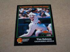 CALIFORNIA ANGELS TIM SALMON 1994 SCORE TOMBSTONE PIZZA #27 OF 30
