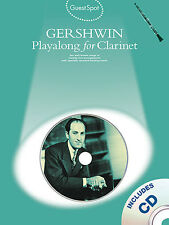 Guest Spot Gershwin Playalong Clarinet Music Book CD