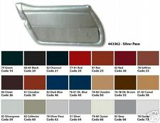 78 - 82 Corvette Door Panels, Pair, New, All Factory Colors Available
