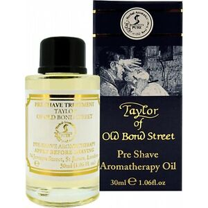 Taylor of old Bond Street Pre-shave-oil Aromatherapy pre Shave Oil 30ml England