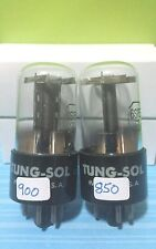 2 Date Matching Tung Sol 6SF5 GT Vacuum Tube Tested Good On Calibrated Hickok