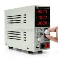 DE Topshak 30V 10A 300W Labornetzgerät Netzteil DC Trafo Stabilisiert Netzgerät