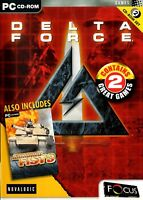 Delta Force 1 Includes Armoured Fist 3 (PC) - Free Postage - UK Seller