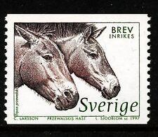 Sweden 1997 Horses. Engraver Lars Sjööblom. MNH