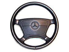 Mercedes S320 S420 s500 S600 Steering Wheel Black Leather S-Series W140 OEM