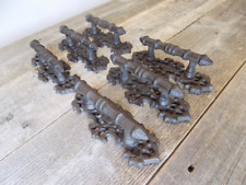 6 Cast Iron Antique Style Fancy Barn Handle Gate Pull Shed Door Handles Pulls