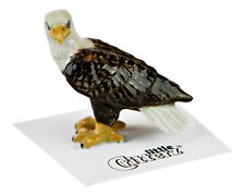 ➸ LITTLE CRITTERZ Bird Miniature Figurine Bald Eagle Freedom