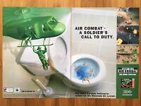 Army Men: Air Combat N64 Nintendo 64 PS1 2000 Vintage Poster Ad Art Print Rare