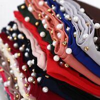 Elegant Women's Chiffon Pearl Scarf Islamic Muslim Hijab Lady Wrap Shawl Scarves