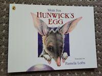 Penguin Kids' Mini Book Collection | HUNWICK'S EGG by Mem Fox Paperback | VGC