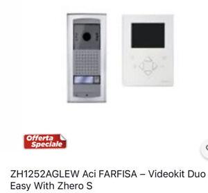 ZH1252AGLEW Aci FARFISA – Videokit Duo Easy With Zhero S
