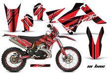AMR Racing Gas Gas EC 250/300 Number Plate Graphics Kit Bike Decals 11-12 INLINE