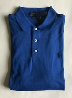 $85 NWT Mens Polo Ralph Lauren Classic Fit Knit Short Sleeve Shirt Royal Blue M