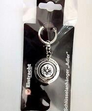 Eintracht Frankfurt Fanartikel Schlüsselanhänger mit Adler Logo schwarz rot neu