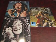 JANIS JOPLIN LIVE IN CONCERT & FAREWELL RARE OUT OF PRINT 3LP Set + GREAT HITS