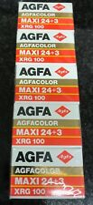 5x Agfa XRG 100 35mm expired film kodak fuji perutz lomo