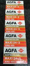 5x Agfa XRG 100 35mm expired film