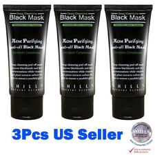 3X Shills Acne Purifying Peel Off Black Mask Deep Cleansing Blackheads Authentic