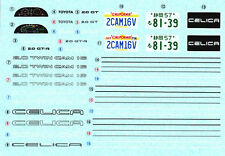 TAMIYA Decal 24056 1/24 Toyota Celica 2000 GT-R