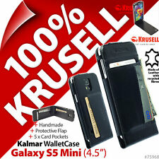 "Krusell Kalmar Wallet Case Cover Folio Flip for Samsung Galaxy S5 Mini (4.5"")"