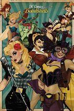 DC Comics - Bombshells POSTER 61x91cm NEW Harley Quinn Rosie Riveter Poison Ivy