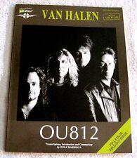 1988 - VAN HALEN - OU812 - GUITAR SONGBOOK - WITH TABLATURE -GREAT GIFT ITEM!!