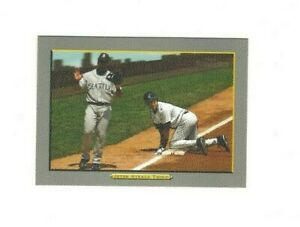 2006 Topps Turkey Red DEREK JETER Jeter Steals Third #580 New York Yankees VG-EX