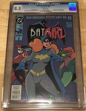 BATMAN ADVENTURES 12 CGC 8.5 1ST APPEARANCE HARLEY QUINN White Pages UNPRESSED!!